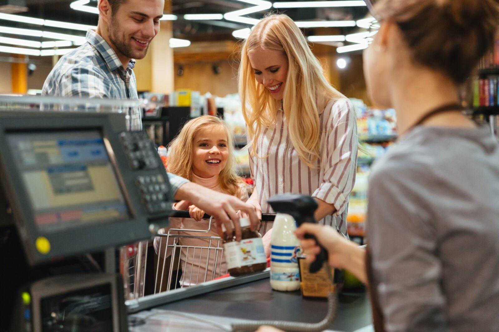 Família no Supermercado